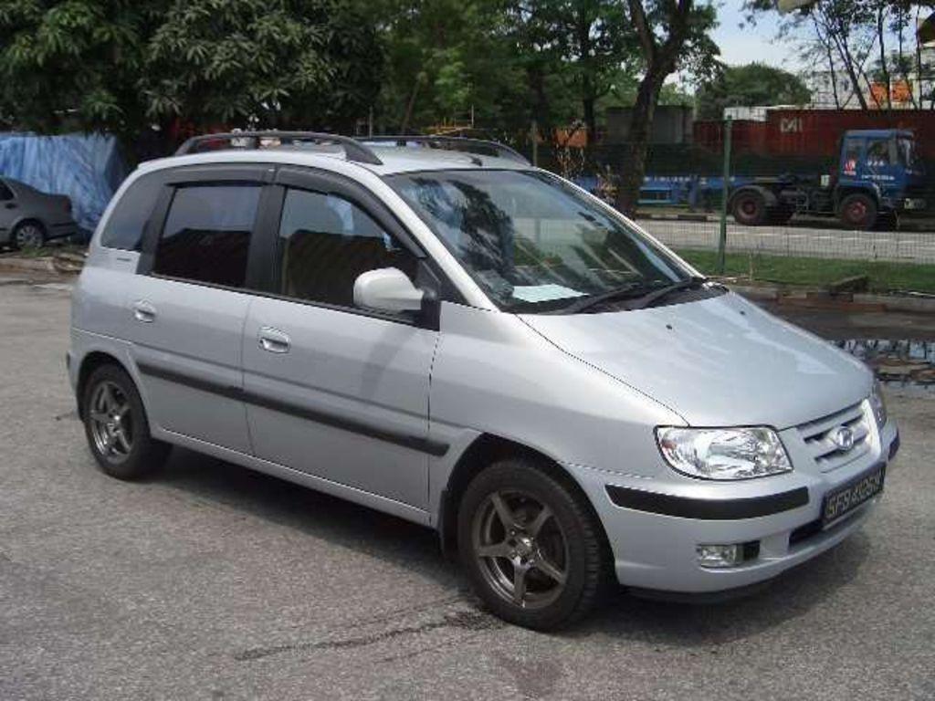 2003 Hyundai Matrix Pictures 1600cc Gasoline Ff