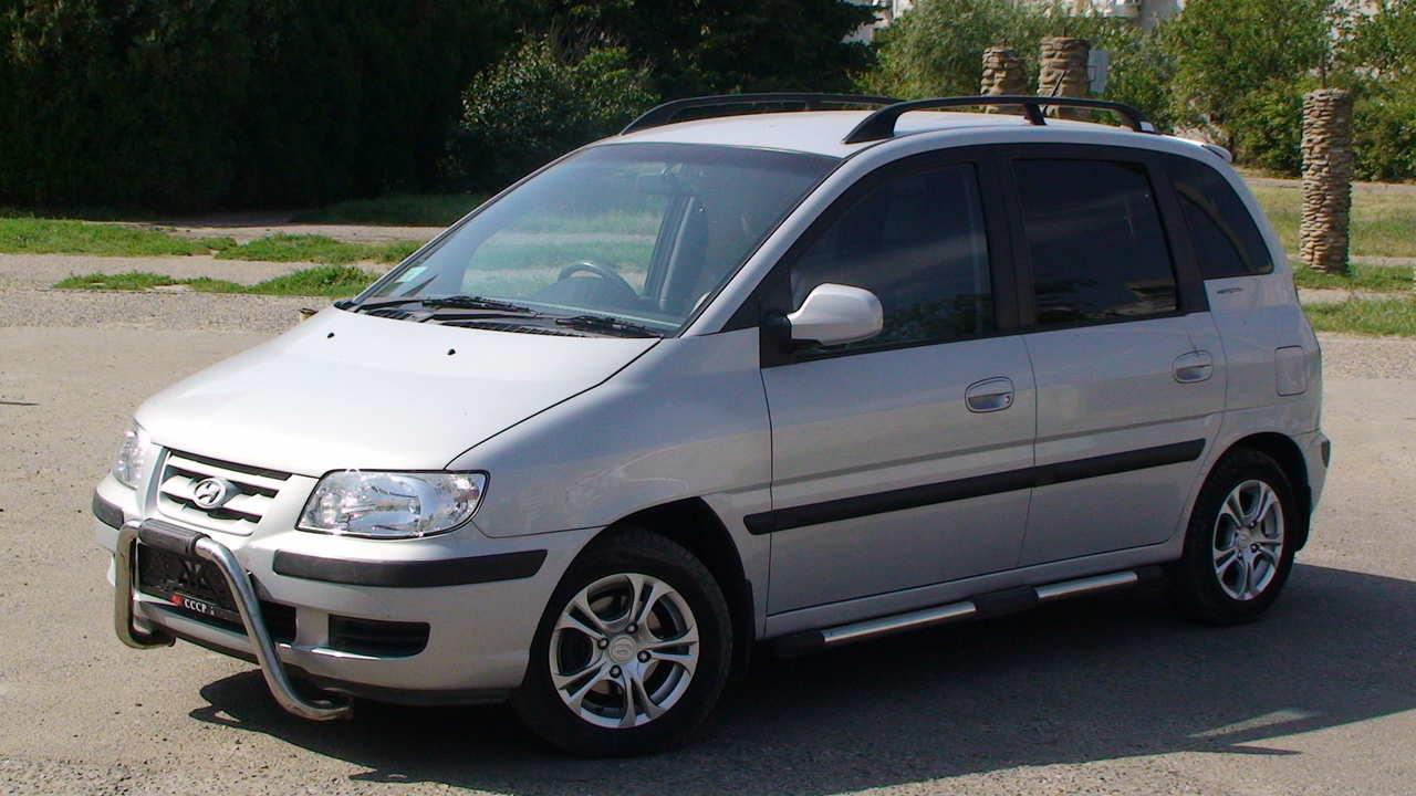 2005 Hyundai Matrix Pictures 1 6l Gasoline Ff