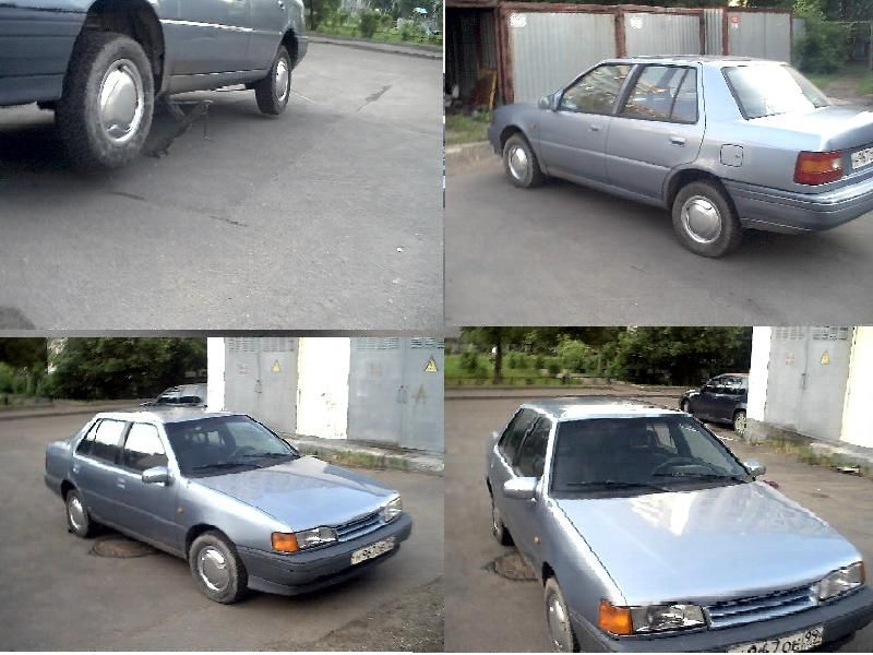 1991 Hyundai PONY Pictures, 1300cc. For Sale