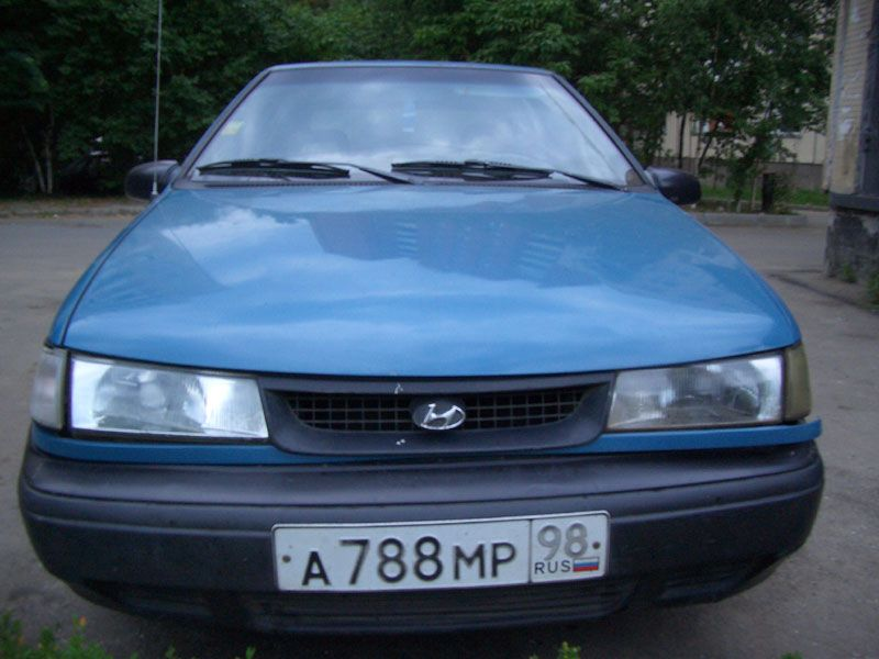 1993 Hyundai PONY Pictures, 1500cc., Gasoline, FF, Manual For Sale