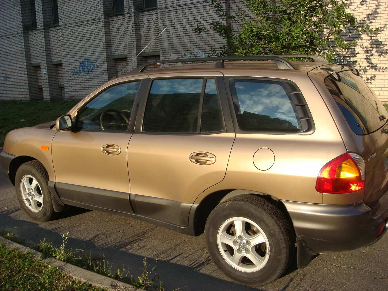 2003 hyundai santa fe pictures gasoline automatic for sale. Black Bedroom Furniture Sets. Home Design Ideas