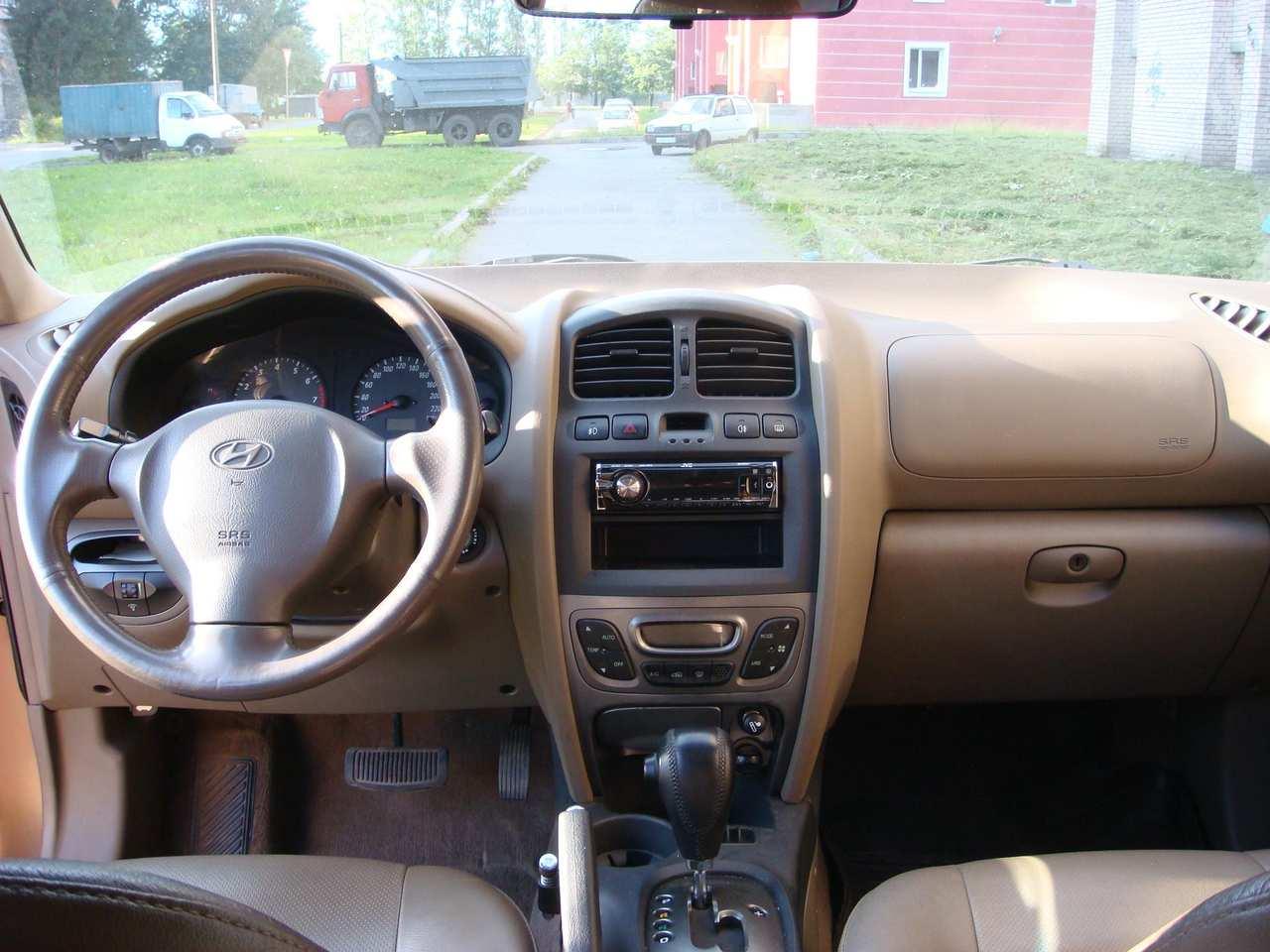 2003 Hyundai Santa Fe Pictures 2700cc Gasoline