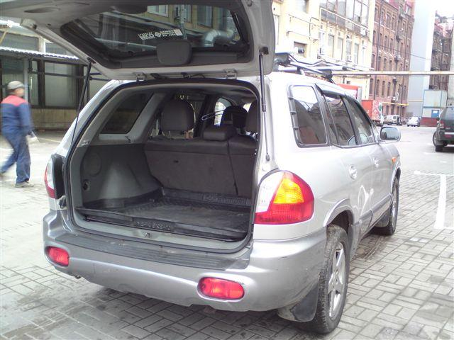 used 2003 hyundai santa fe photos 2351cc gasoline manual for sale. Black Bedroom Furniture Sets. Home Design Ideas