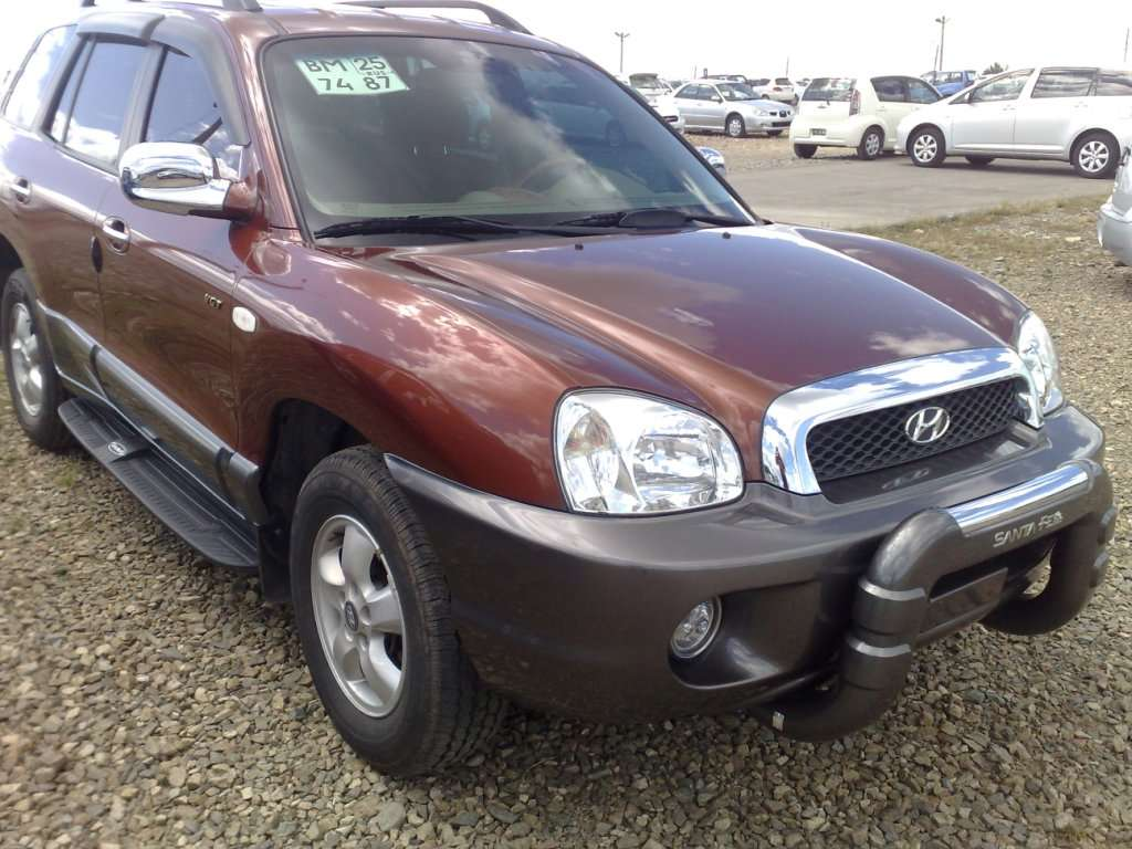 used 2004 hyundai santa fe photos 2000cc diesel. Black Bedroom Furniture Sets. Home Design Ideas
