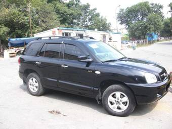 2005 hyundai santa fe pictures diesel cvt for sale. Black Bedroom Furniture Sets. Home Design Ideas