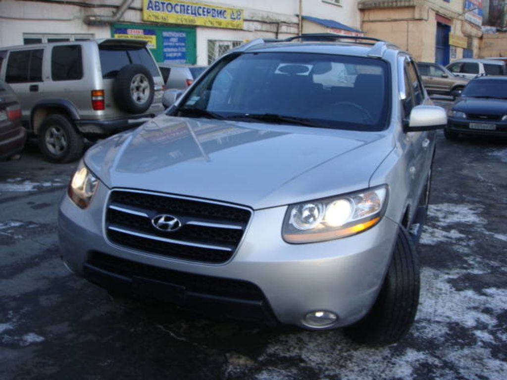 2006 hyundai santa fe pictures 2200cc diesel automatic. Black Bedroom Furniture Sets. Home Design Ideas