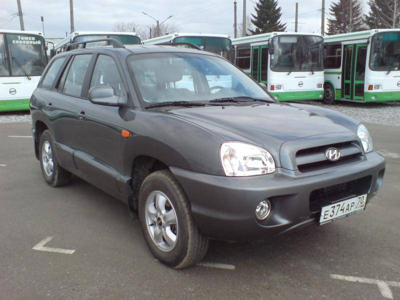 2007 hyundai santa fe pictures 2700cc gasoline automatic for sale. Black Bedroom Furniture Sets. Home Design Ideas
