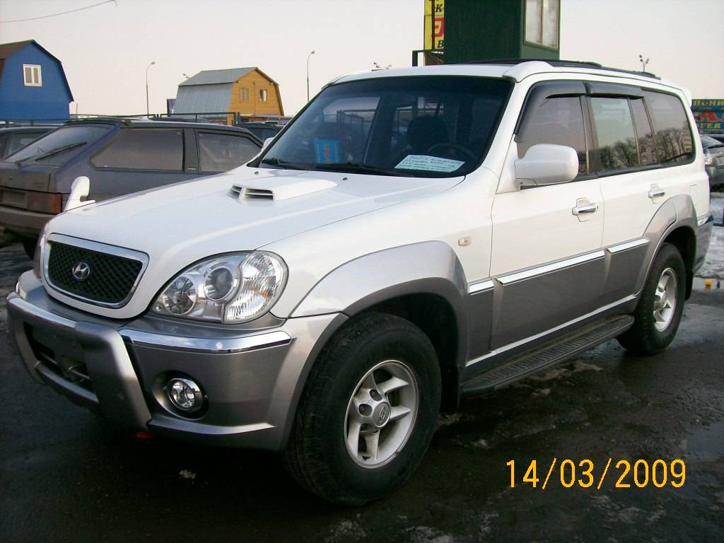 2002 hyundai terracan photos diesel automatic for sale. Black Bedroom Furniture Sets. Home Design Ideas