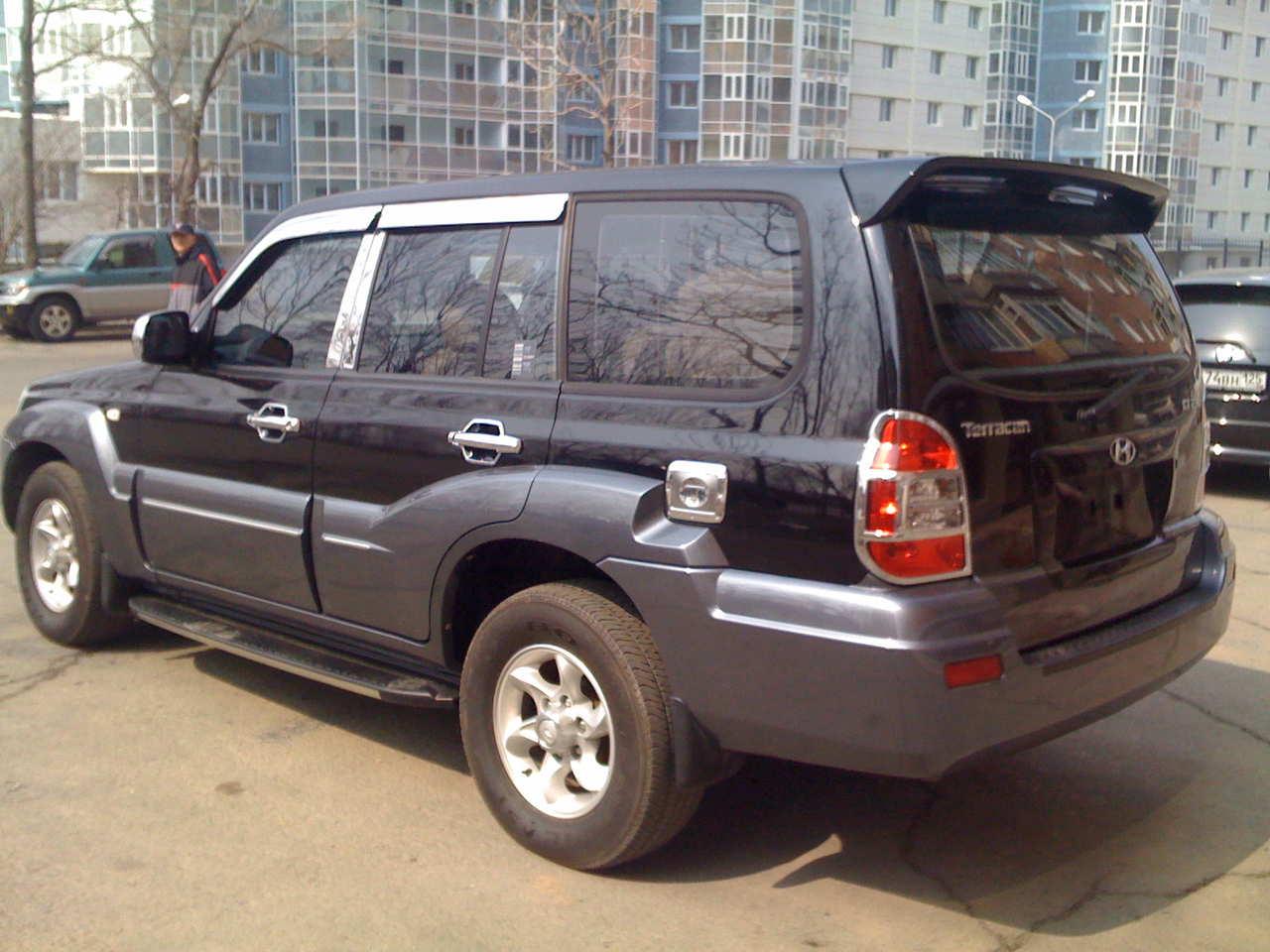 Hyundai terracan for sale