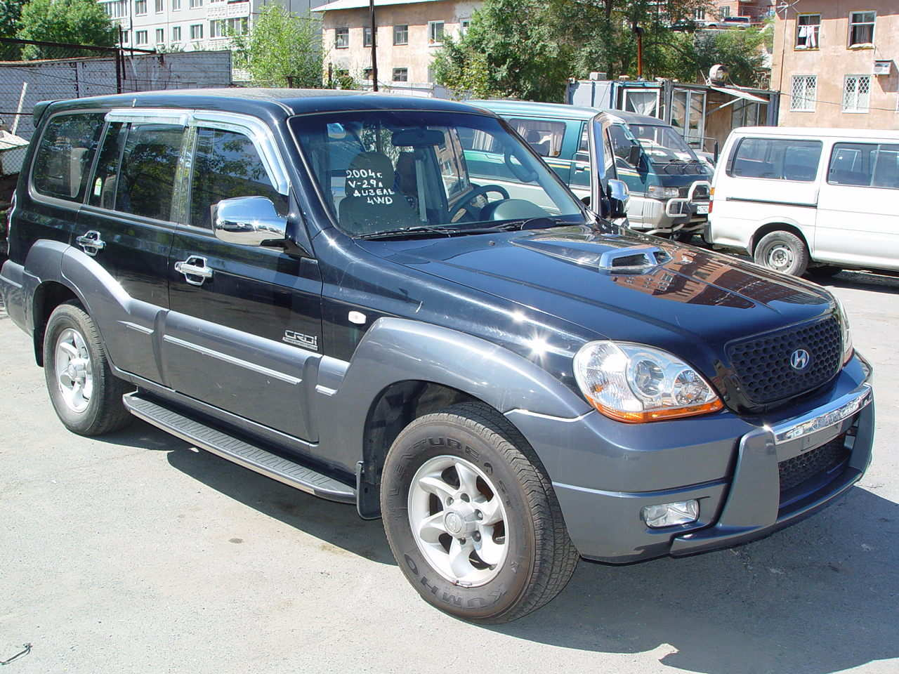 2004 hyundai terracan photos 2 9 diesel automatic for sale. Black Bedroom Furniture Sets. Home Design Ideas