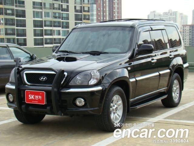 2004 hyundai terracan pictures diesel automatic for sale. Black Bedroom Furniture Sets. Home Design Ideas
