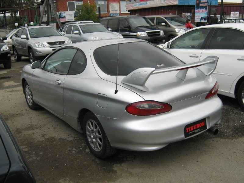 1998 Hyundai Tiburon Pictures 2 0l Gasoline Ff Manual