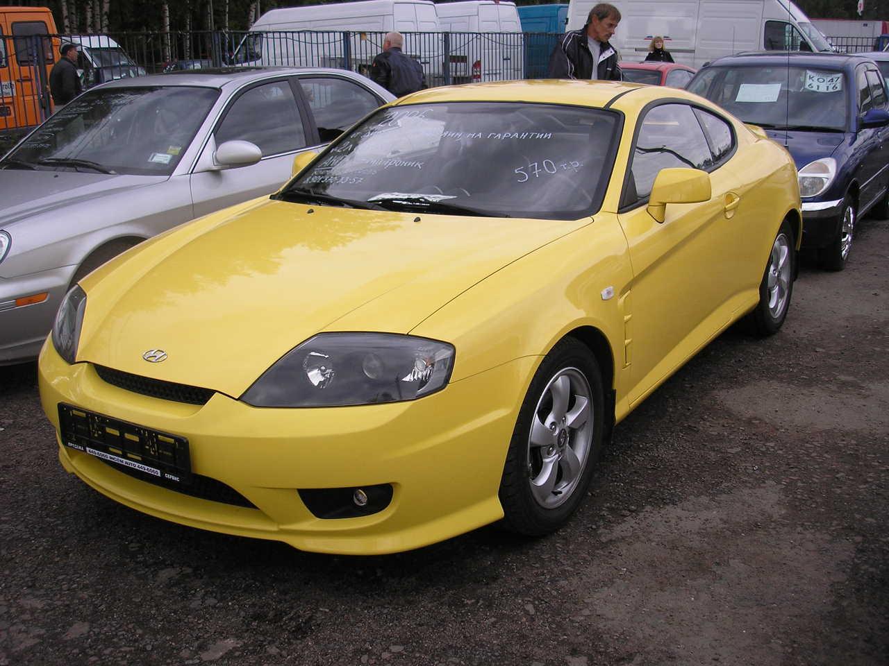 2006 Hyundai Tiburon Pictures 2 0l Gasoline Ff Cvt