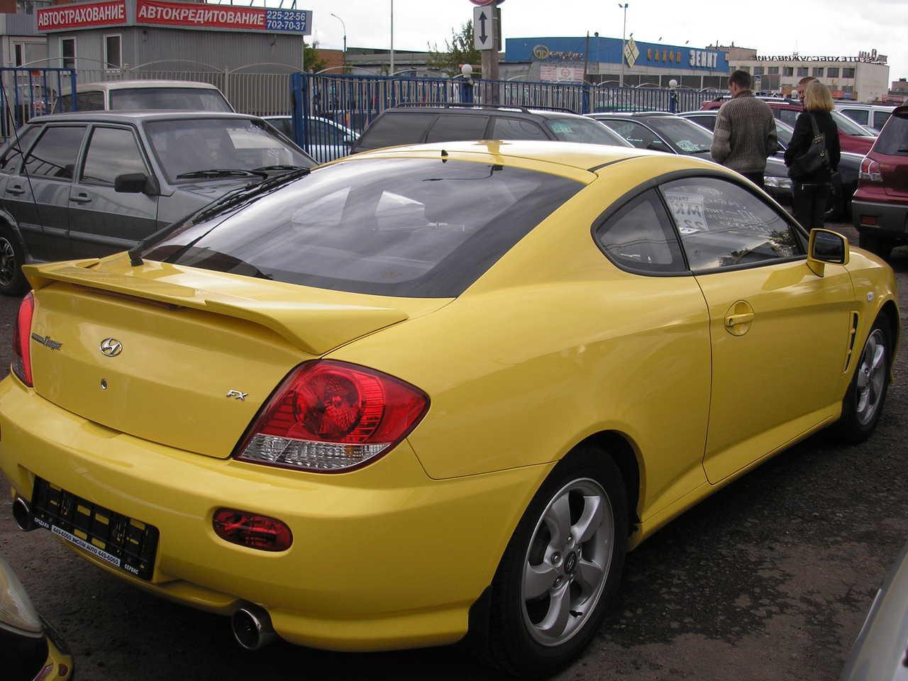 2006 Hyundai Tiburon Photos 2 0 Gasoline Ff Cvt For Sale