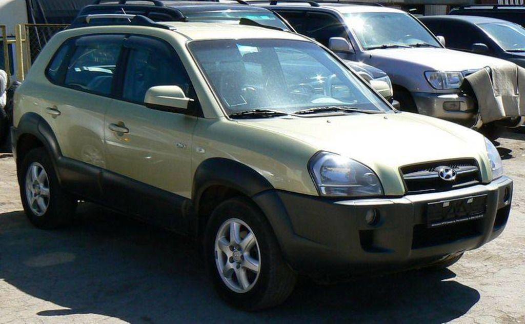 2006 Hyundai Tucson Pictures
