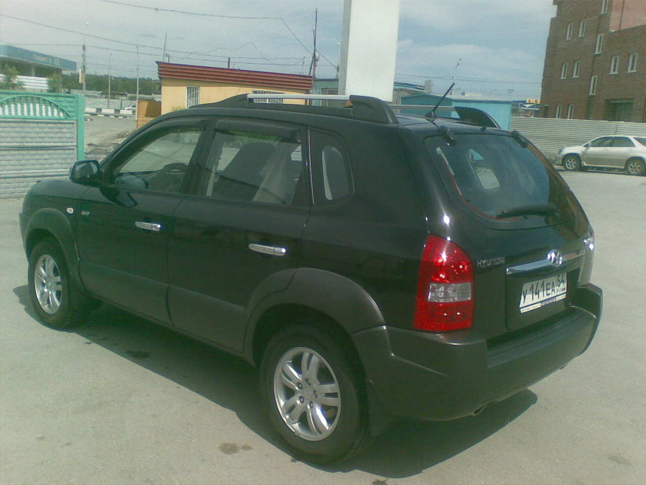 used 2006 hyundai tucson photos 2700cc gasoline automatic for sale. Black Bedroom Furniture Sets. Home Design Ideas
