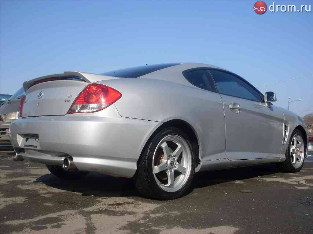 2005 Hyundai Tuscani For Sale 2000cc Gasoline Ff