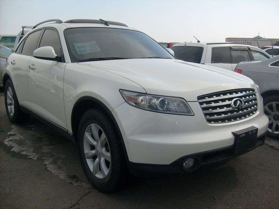 2002 Infiniti Fx35 Pictures 3500cc For Sale