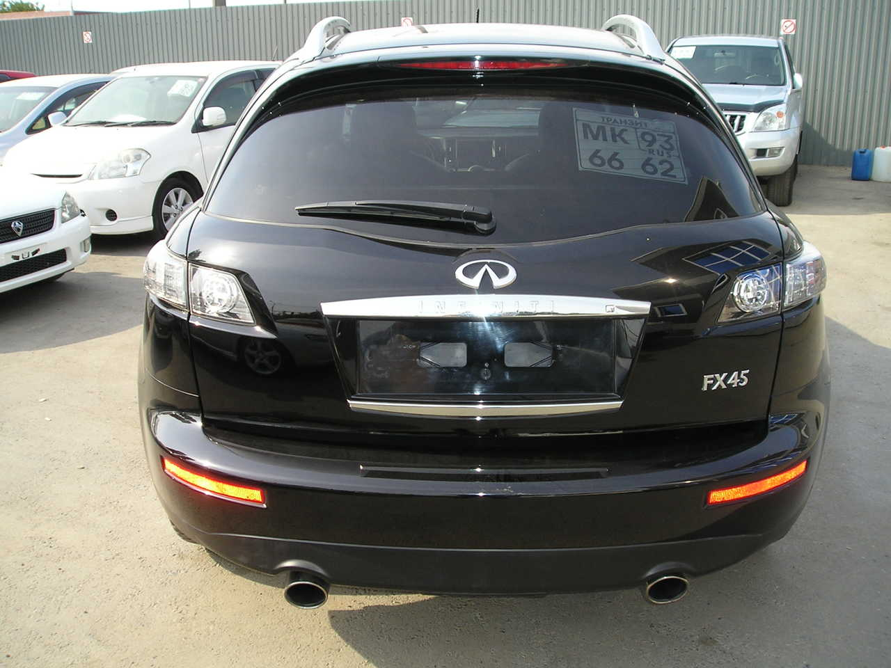 2007 infiniti fx45 for sale gasoline automatic for sale. Black Bedroom Furniture Sets. Home Design Ideas
