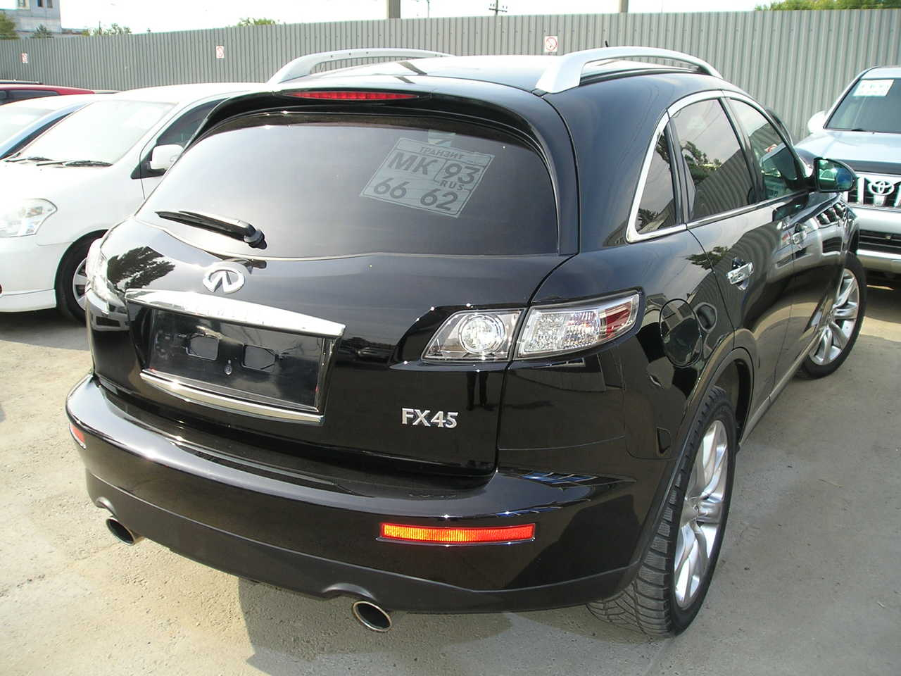 used 2007 infiniti fx45 photos gasoline automatic for sale. Black Bedroom Furniture Sets. Home Design Ideas