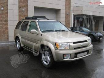 Used 2001 infiniti qx4 photos 3498cc gasoline automatic for sale