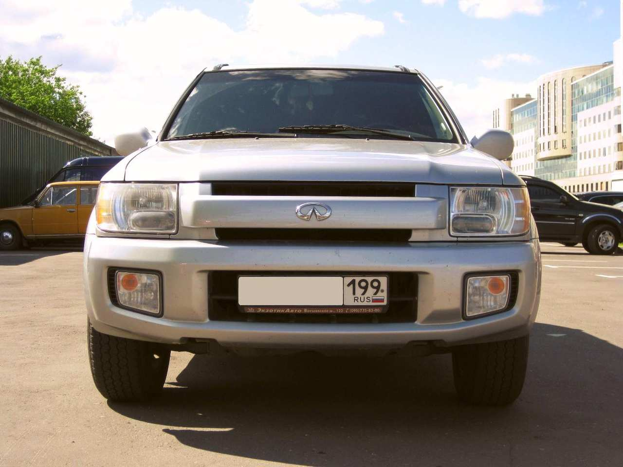 2002 infiniti qx4 pictures 3 5l gasoline automatic for sale