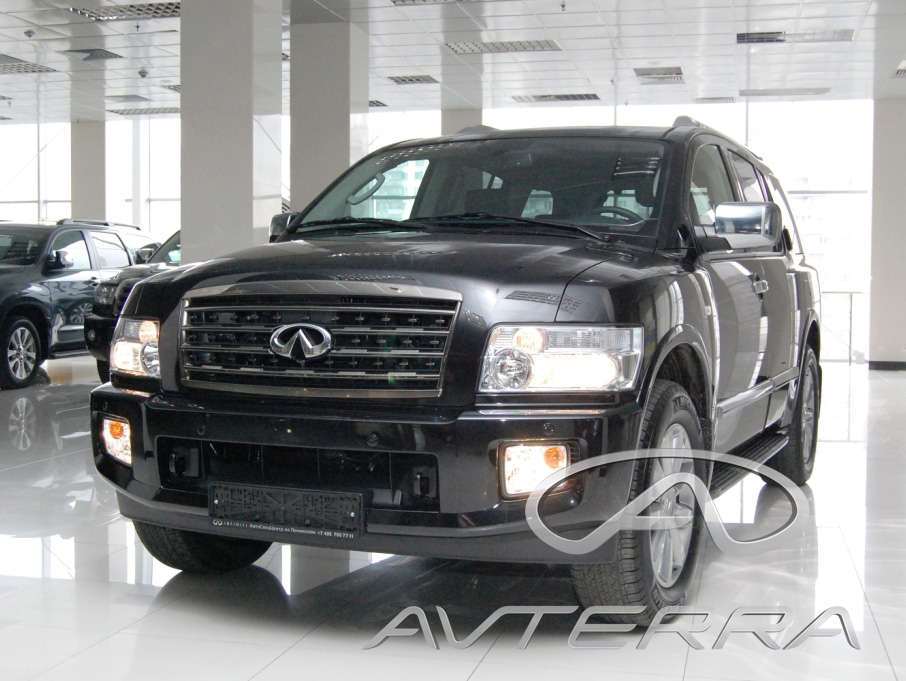 2008 infiniti qx56 pictures 5551cc gasoline automatic for sale. Black Bedroom Furniture Sets. Home Design Ideas
