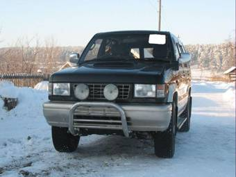 1995 Isuzu Bighorn Pictures 3 1l Diesel Automatic For Sale