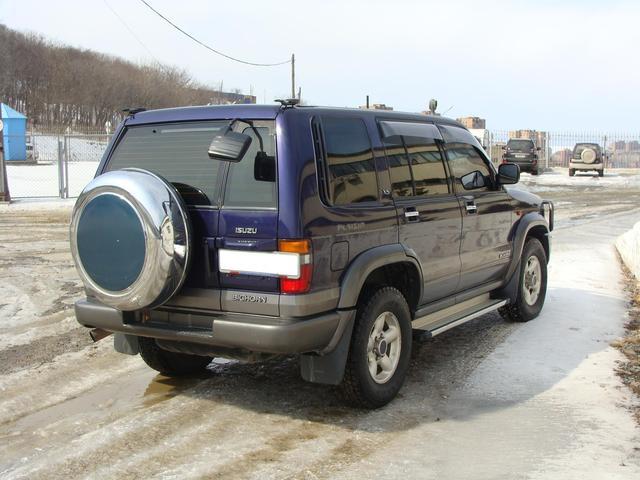 1997 Isuzu Bighorn Pictures 3 1l Diesel Automatic For Sale