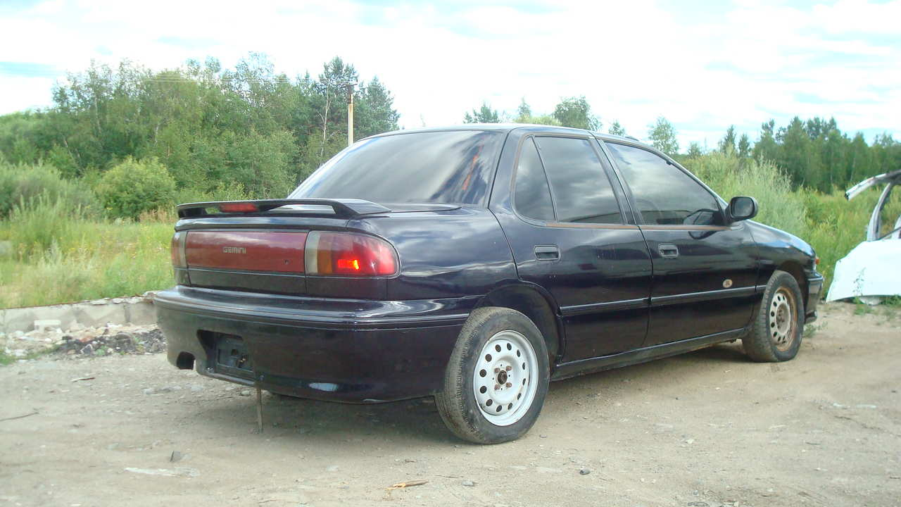1992 isuzu gemini pictures, 1.6l., gasoline, ff, automatic for sale