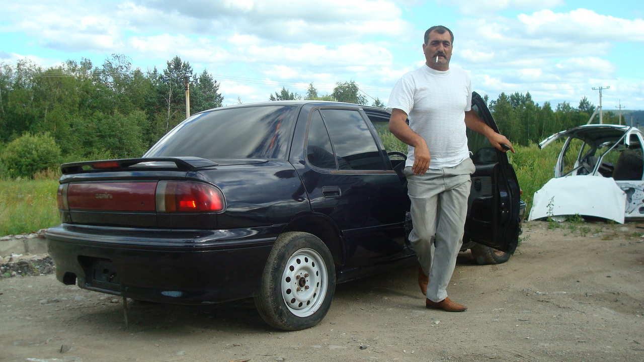 used 1992 isuzu gemini photos, 1600cc., gasoline, ff, automatic for sale