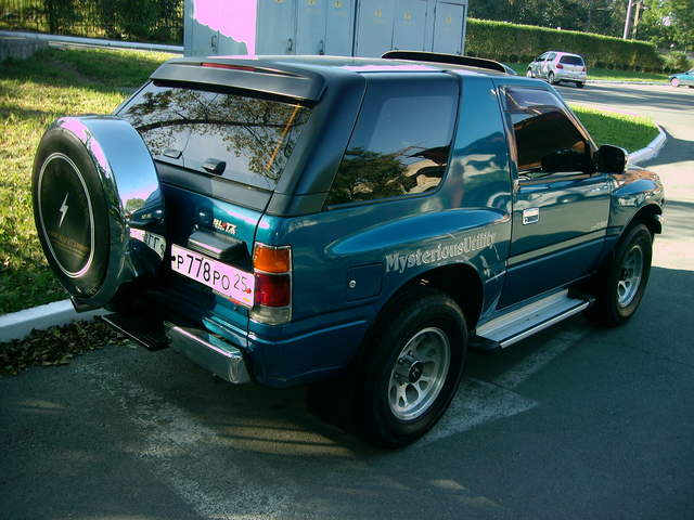 1993 Isuzu Mu Pictures 3100cc Diesel Automatic For Sale