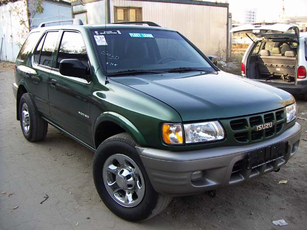2000 Isuzu Rodeo Pictures 2200cc Gasoline Fr Or Rr