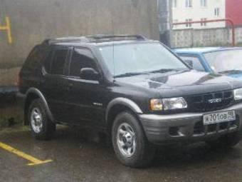 2001 Isuzu Rodeo Pics 0 0 Gasoline Fr Or Rr Automatic