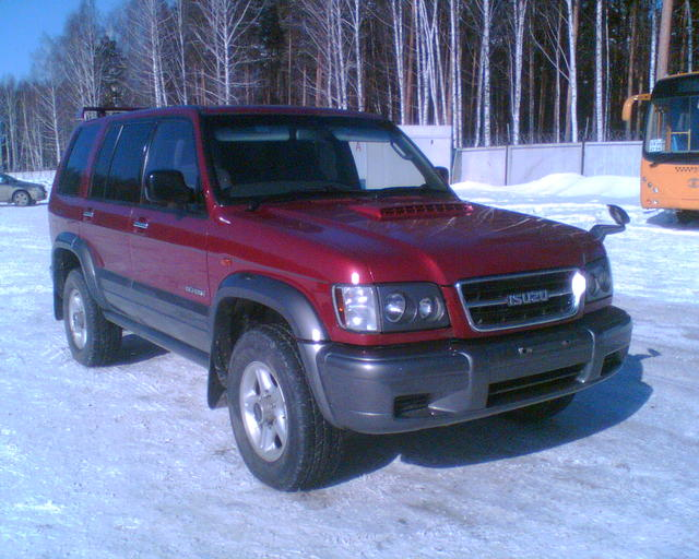 1998 isuzu trooper pictures diesel automatic for sale. Black Bedroom Furniture Sets. Home Design Ideas