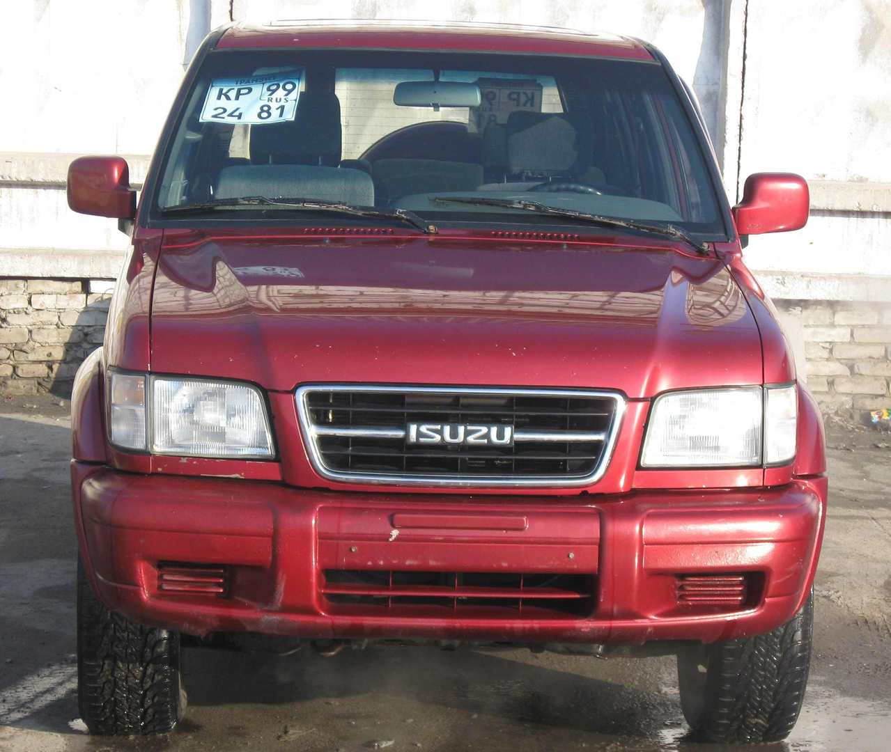 1998 Isuzu Trooper Photos, 3.5, Gasoline, Automatic For Sale