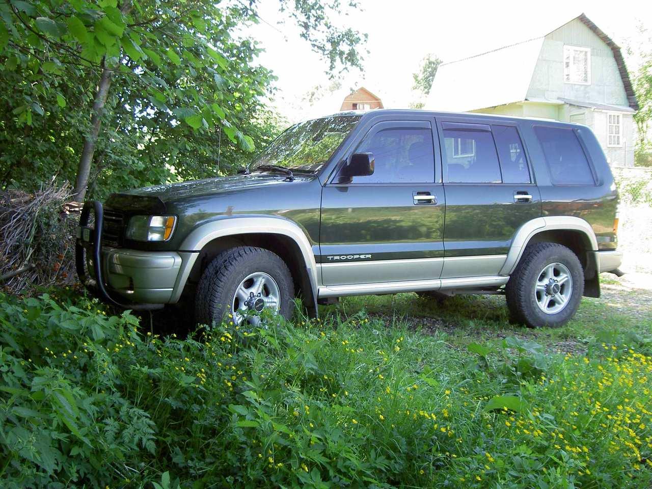 2001 isuzu trooper for sale  3500cc   gasoline  automatic Isuzu 2.8 Turbo Diesel Engine Isuzu 4JB1 Diesel Engine