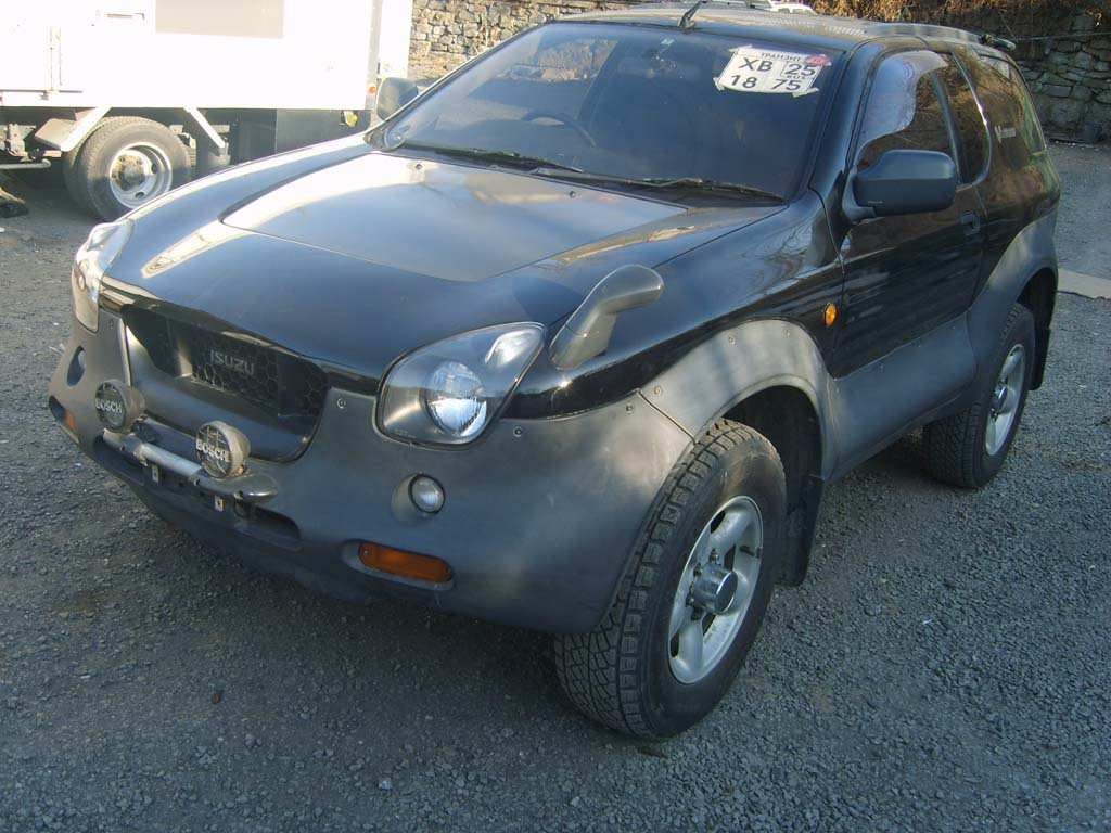 1999 isuzu vehicross pictures 3200cc gasoline automatic for sale. Cars Review. Best American Auto & Cars Review