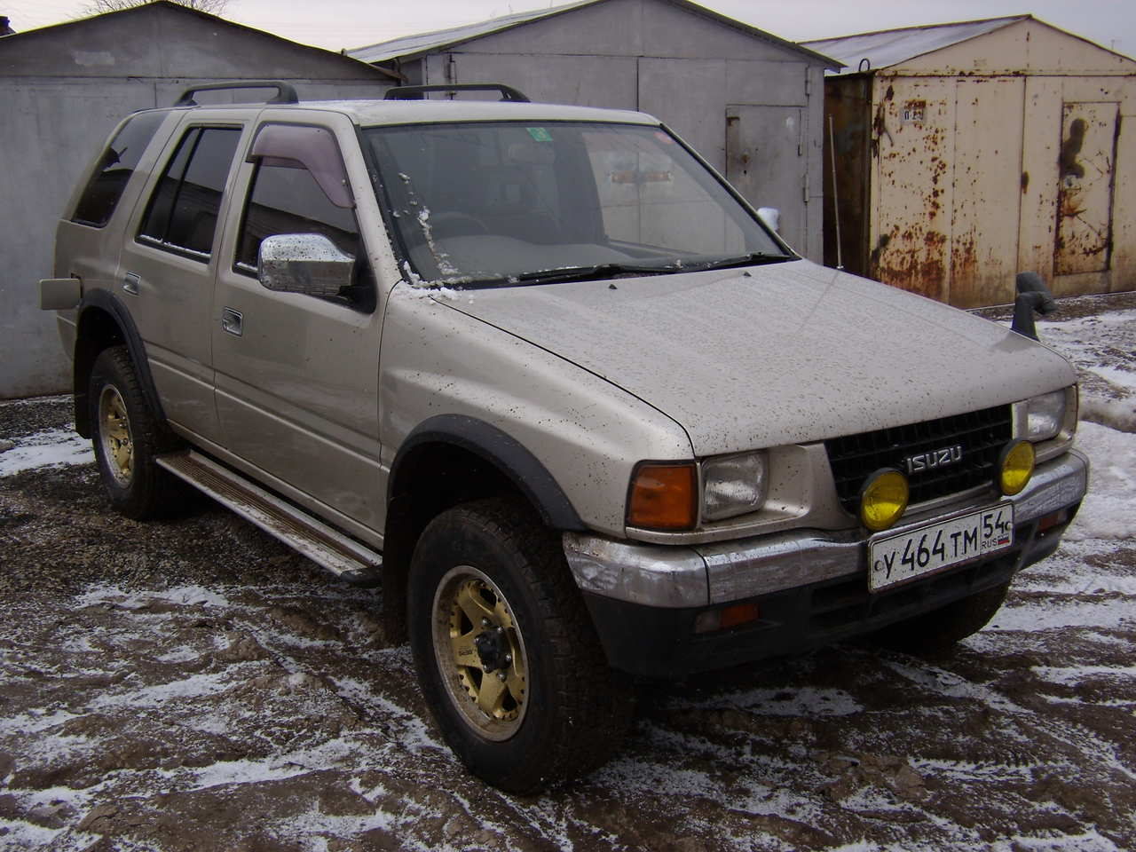 1996 Isuzu Wizard Pictures 3 1l Diesel Automatic For Sale