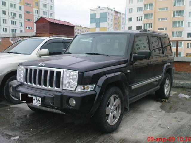 2007 jeep commander pics 3 0 diesel automatic for sale. Black Bedroom Furniture Sets. Home Design Ideas