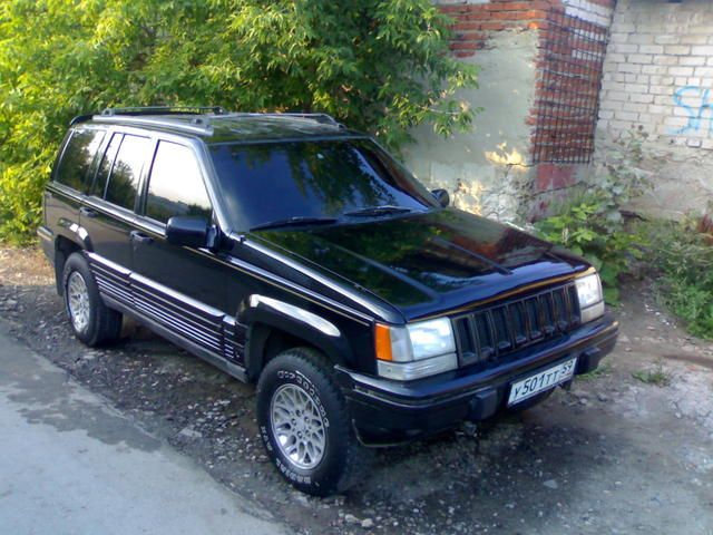 1995 jeep grand cherokee pictures. Cars Review. Best American Auto & Cars Review