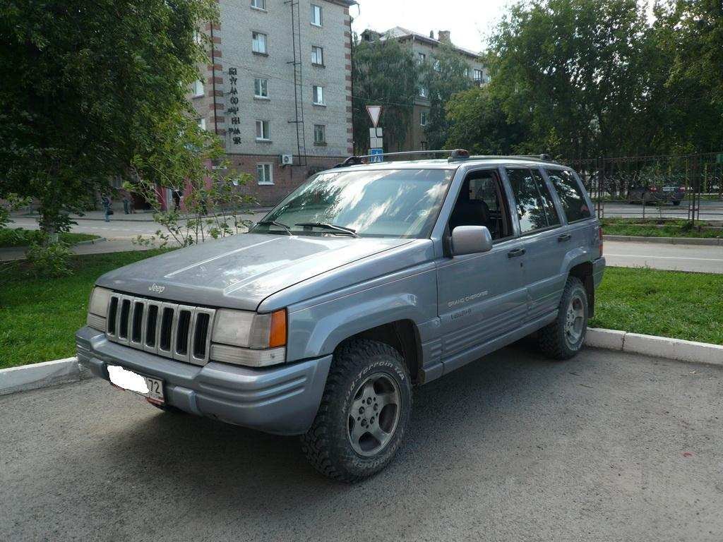 used 1996 jeep grand cherokee photos 5199cc gasoline automatic for sale. Black Bedroom Furniture Sets. Home Design Ideas