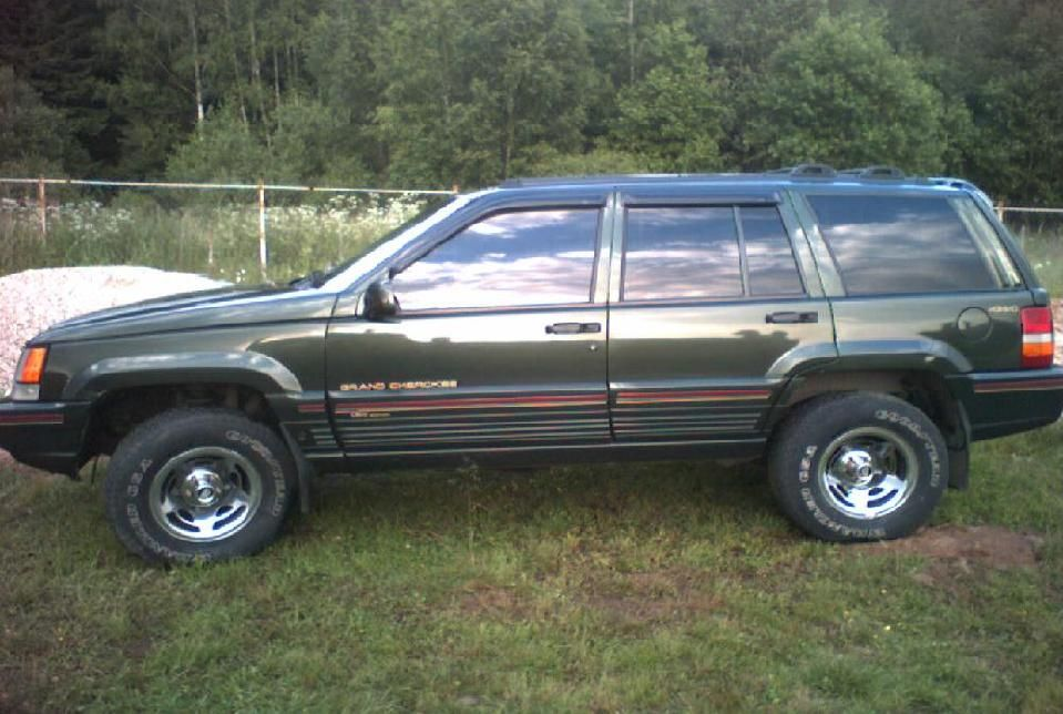 1995 jeep grand cherokee orvis pictures 4000cc gasoline automatic for sale. Black Bedroom Furniture Sets. Home Design Ideas