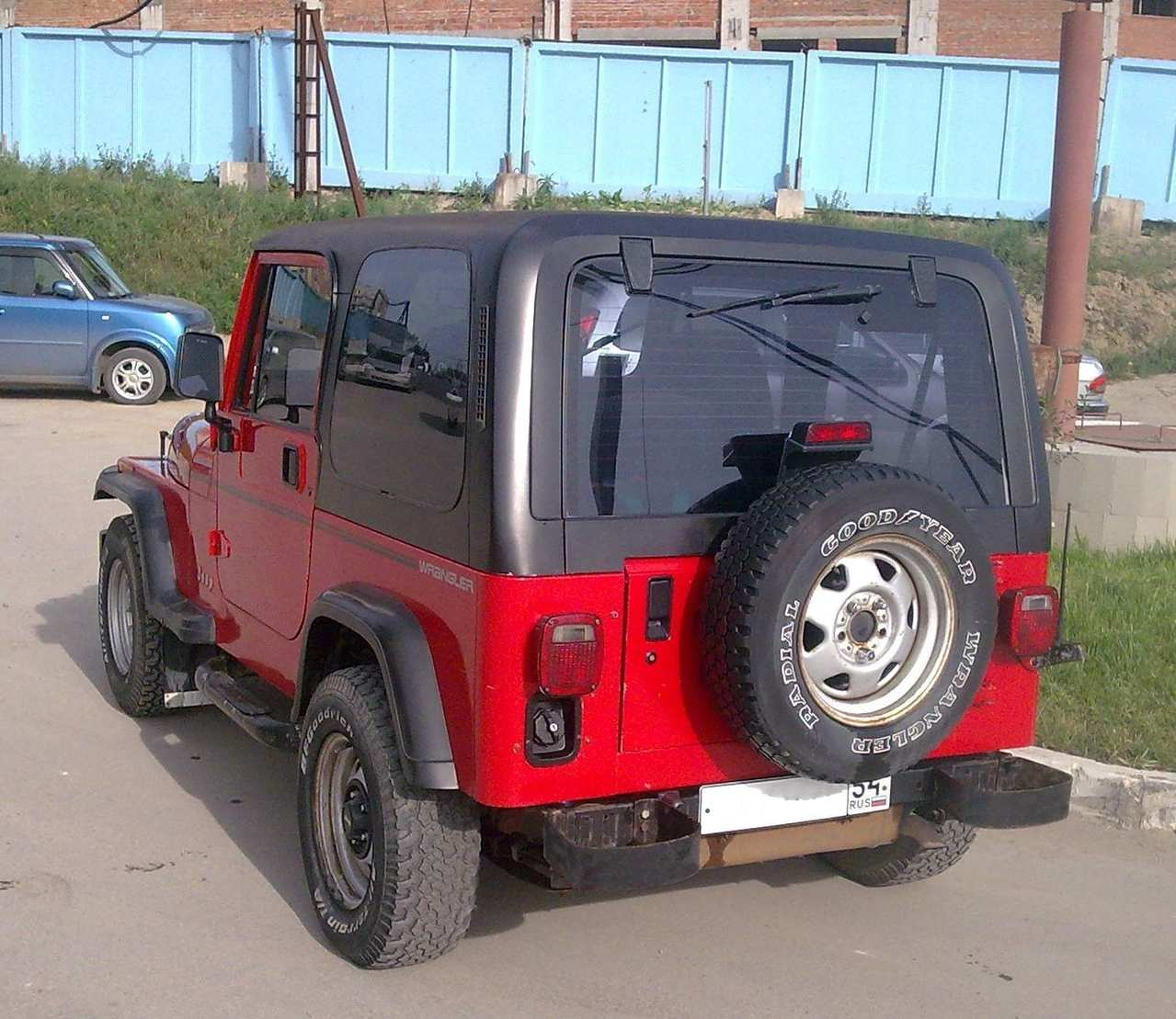 1994 JEEP Wrangler Pictures, 2.5l., Gasoline, Manual For Sale