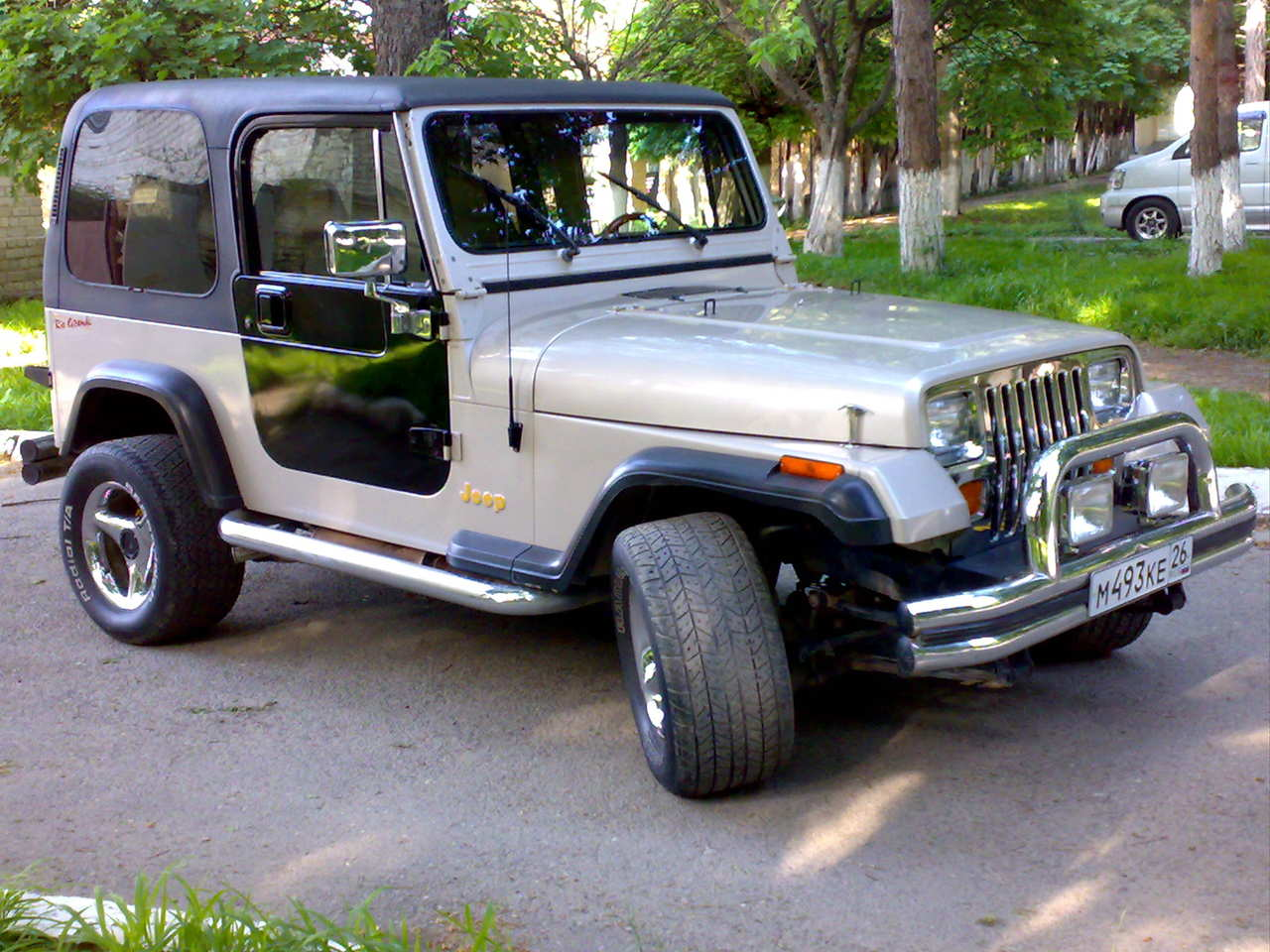 1995 jeep wrangler photos, 2.5, gasoline, automatic for