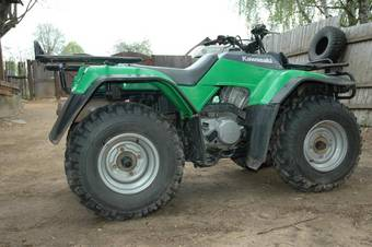 1997 kawasaki bayou 400 4x4 pictures, 0.4l. for sale