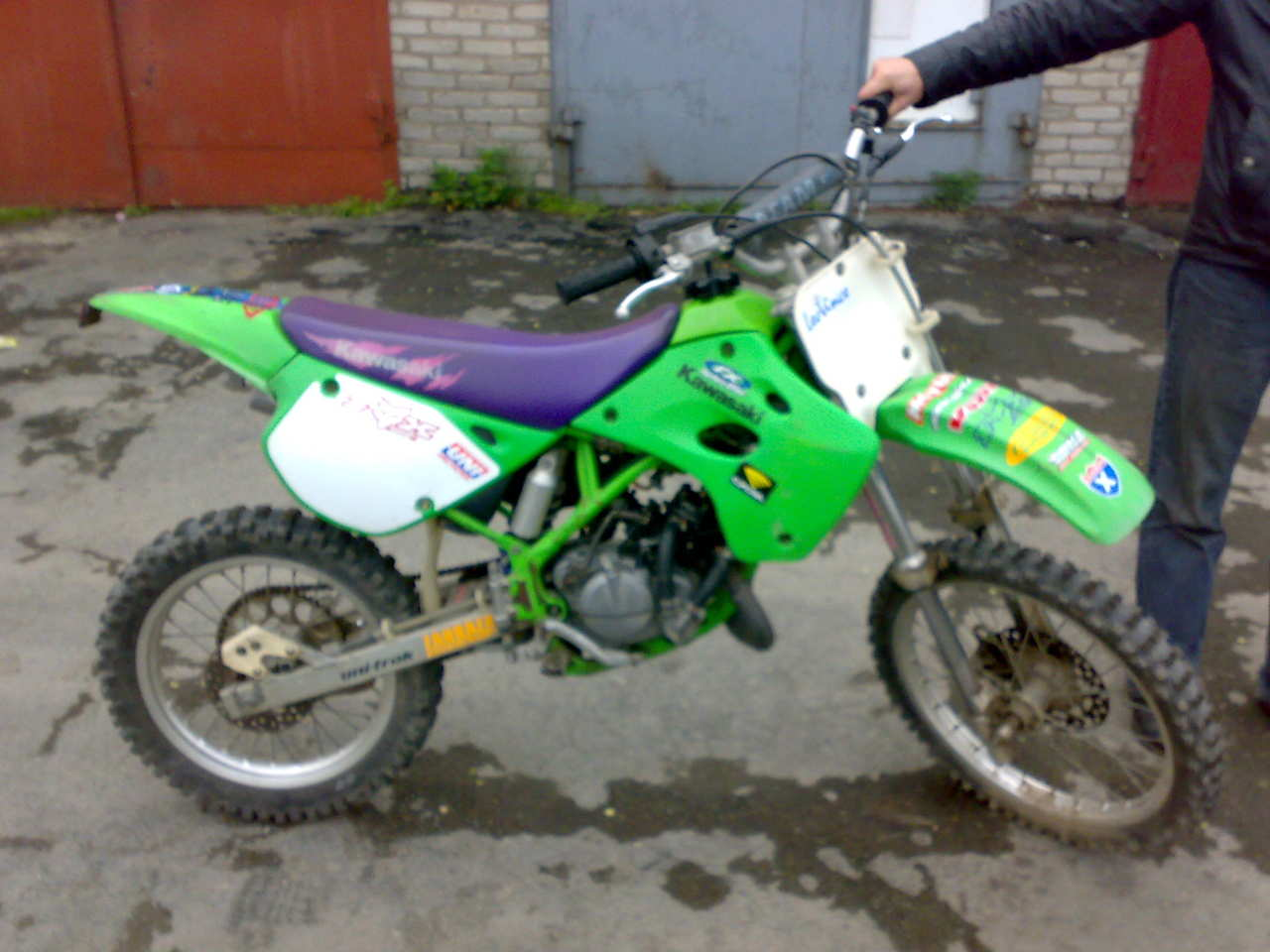 1998 Kawasaki Kx80 Ii Pictures 80cc For Sale