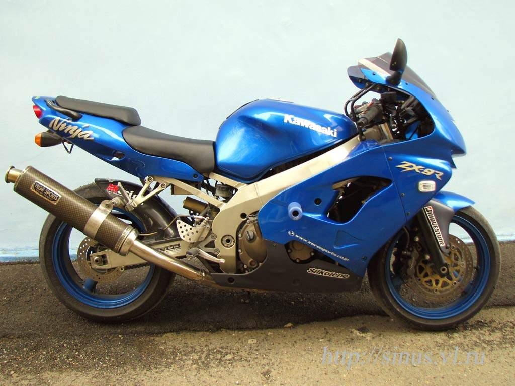 Kawasaki ZX-9R 900 cm³ 1999 - Vesanto - Motorcycle - Nettimoto