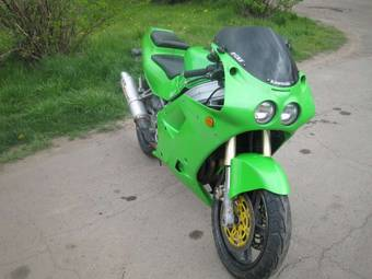 1993 Kawasaki ZXR Pictures