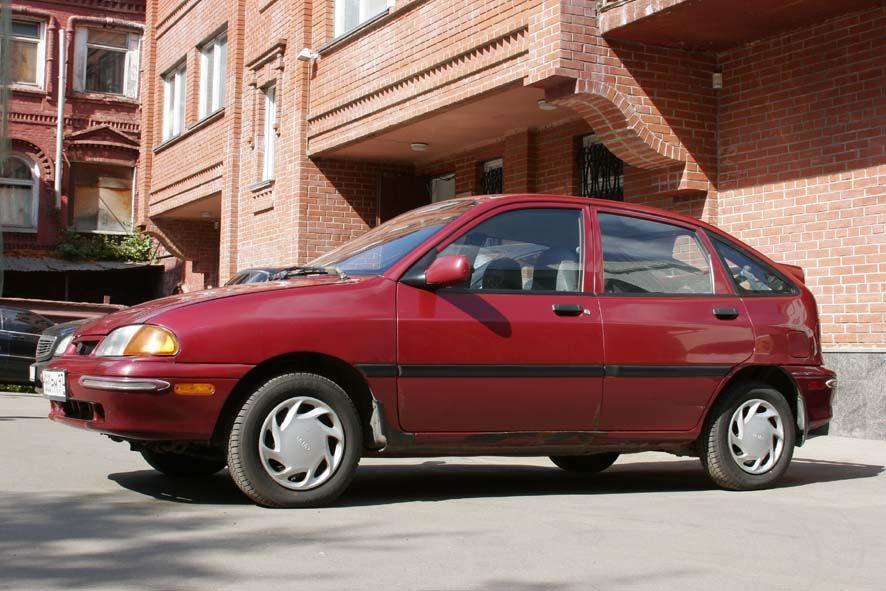 1996 kia avella pictures, 1300cc., gasoline, ff, manual for sale